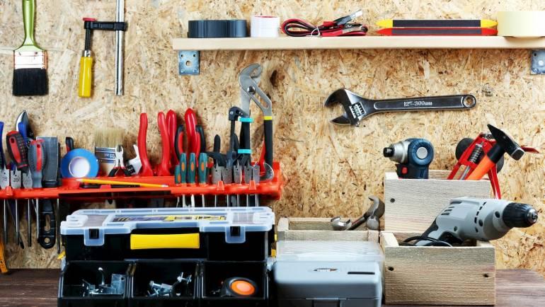 5 façons de ranger son atelier et ses outils