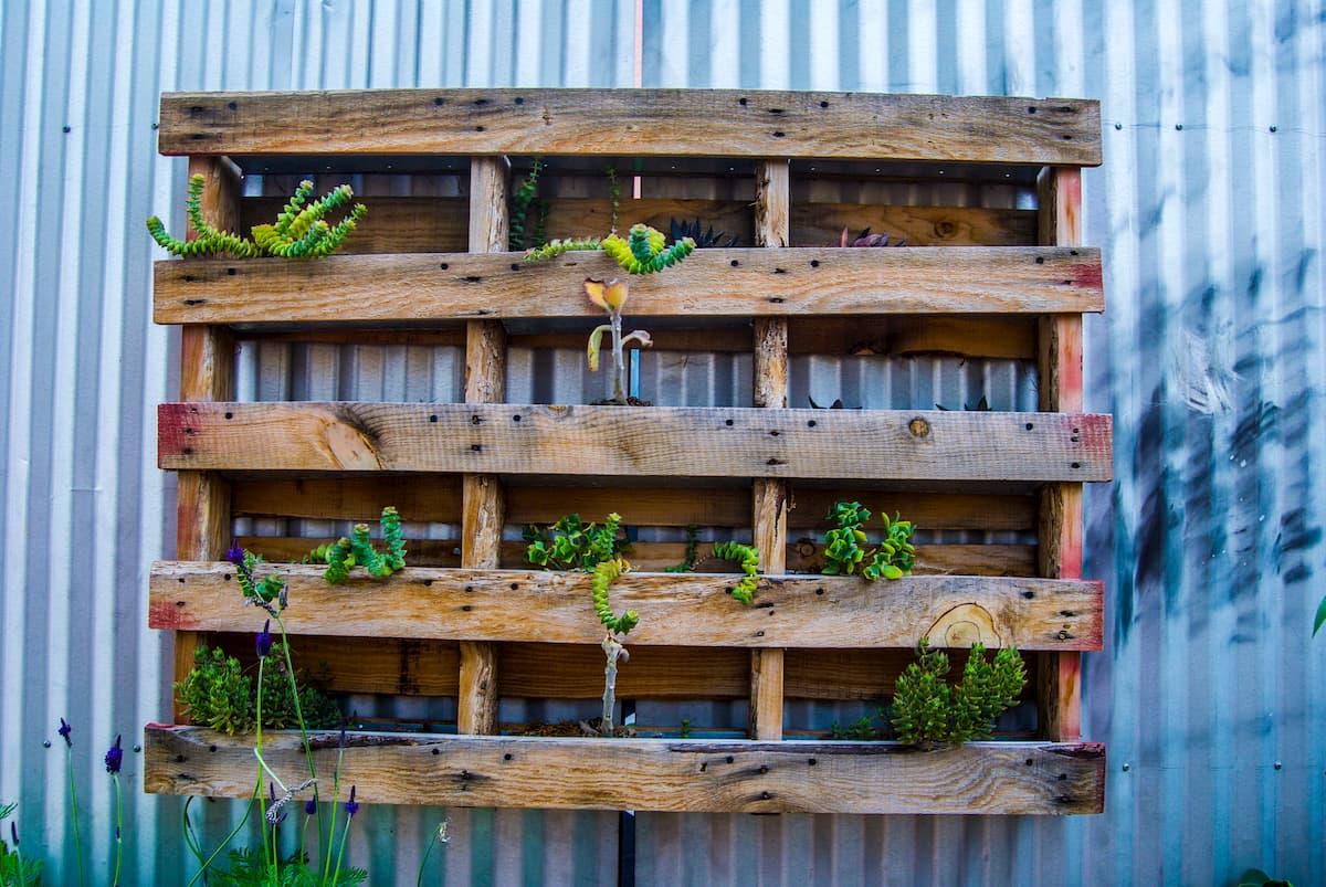 Mur Végétal Extérieur Palette 5 idées de salon de jardin design - plants for people